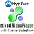 mixed video player